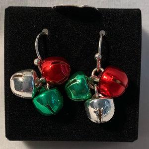 "NEW Avon ""Christmas Earrings - Bells"" vintage 2009"